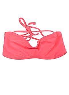 Haut de maillot de bain rose MONPETITBIKINI pour fille