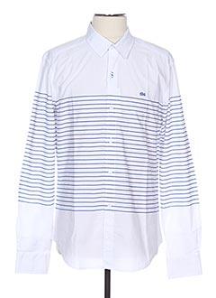 Chemise manches longues blanc TBS pour homme