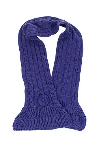 Echarpe violet BERLINGOT pour fille