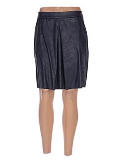 Jupe courte bleu POUSSIERE D'ETOLE pour femme