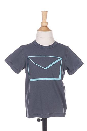 T-shirt manches courtes gris BENETTON pour garçon