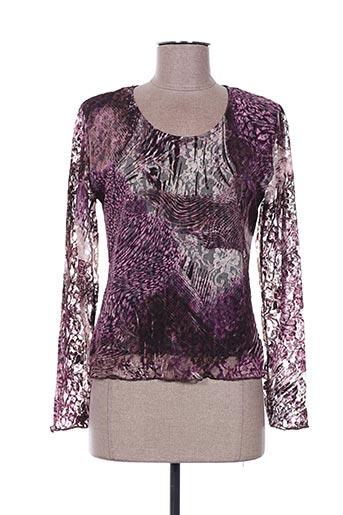 Top violet FINETTE pour femme