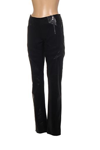 Pantalon casual noir AKHESA pour femme