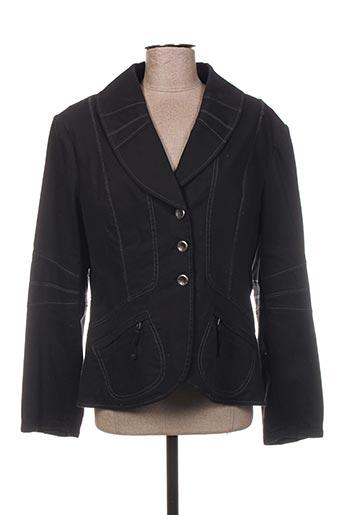 Veste chic / Blazer noir BLEU DE SYM pour femme