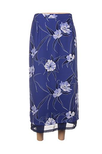 Jupe longue bleu GERARD PASQUIER pour femme