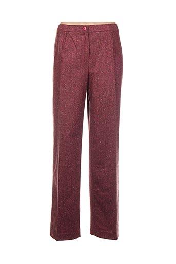Pantalon chic rose GERARD PASQUIER pour femme