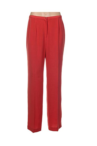 Pantalon chic rouge GERARD PASQUIER pour femme