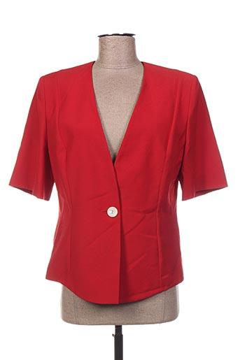Veste chic / Blazer rouge GERARD PASQUIER pour femme