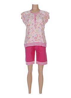 Pyjashort rose ROSE POMME pour femme