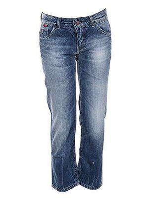 Jeans coupe droite bleu CHIPIE pour fille