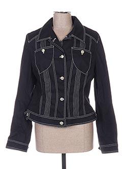 Veste casual noir ELLA pour femme