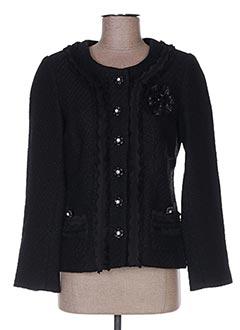 Veste chic / Blazer noir BLEU BLANC ROUGE pour femme