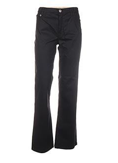 Pantalon casual noir ELLA pour femme