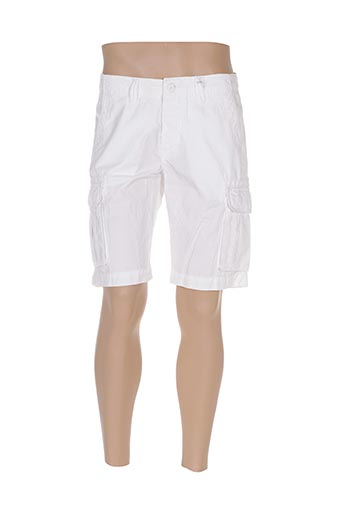 Bermuda blanc CROSSBY pour homme