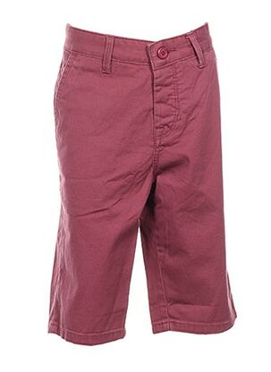 Bermuda rose CROSSBY pour homme