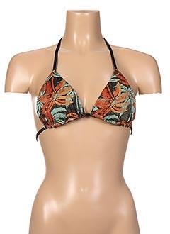 Haut de maillot de bain noir ESCALE À BAHIA pour femme
