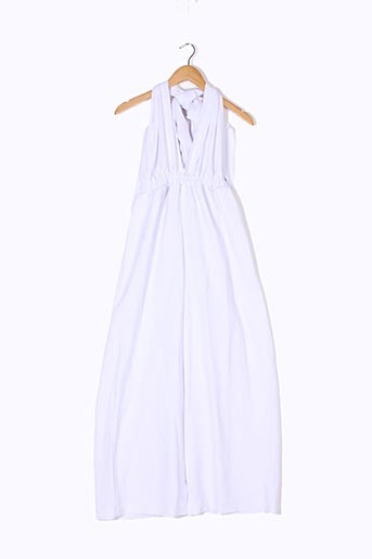 Combi-pantalon blanc DIARRABLU pour femme