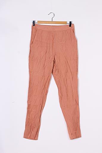 Pantalon casual rose ALLYSON pour femme