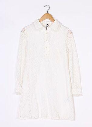 Robe courte blanc MOLLY BRACKEN pour femme