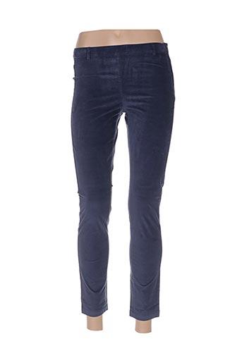 Pantalon 7/8 bleu BENETTON pour femme