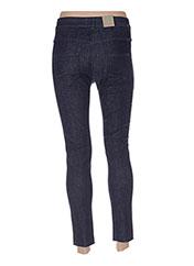 Jeans coupe slim bleu BENETTON pour femme seconde vue