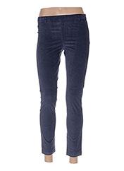 Pantalon 7/8 bleu BENETTON pour femme seconde vue