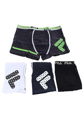 Shorty/Boxer noir FILA pour homme