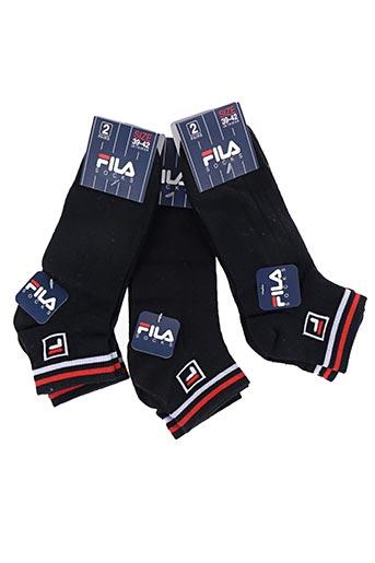Chaussettes noir FILA pour homme