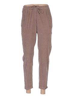Pantalon 7/8 beige HARTFORD pour femme