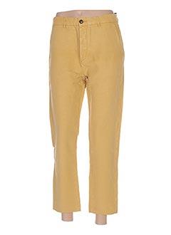 Pantalon 7/8 jaune HOD pour femme