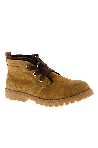 Bottines/Boots marron CHEIW pour garçon