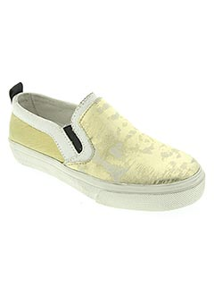 Mocassins jaune CRIME LONDON pour fille