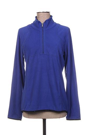 Sweat-shirt bleu CHAMPION pour femme