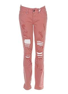 Pantalon casual rose GUESS pour femme