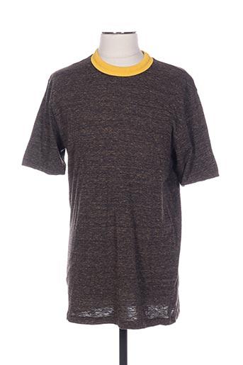 T-shirt manches courtes marron CERRUTI 1881 pour homme
