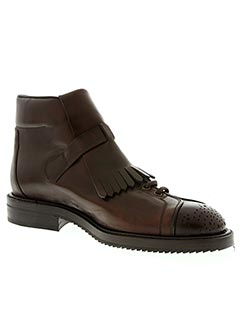Bottines/Boots marron CERRUTI 1881 pour homme