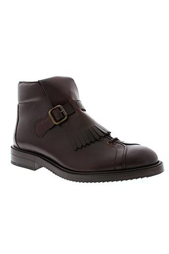 Bottines/Boots marron CERRUTI 1881 pour homme