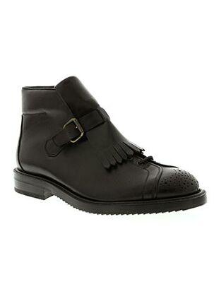 Bottines/Boots noir CERRUTI 1881 pour homme