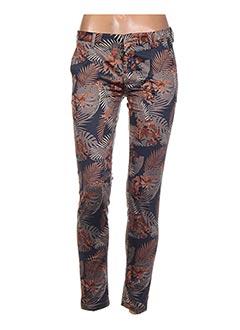 Pantalon chic marron BO'AIME pour femme