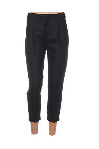 Pantalon 7/8 noir BO'AIME pour femme