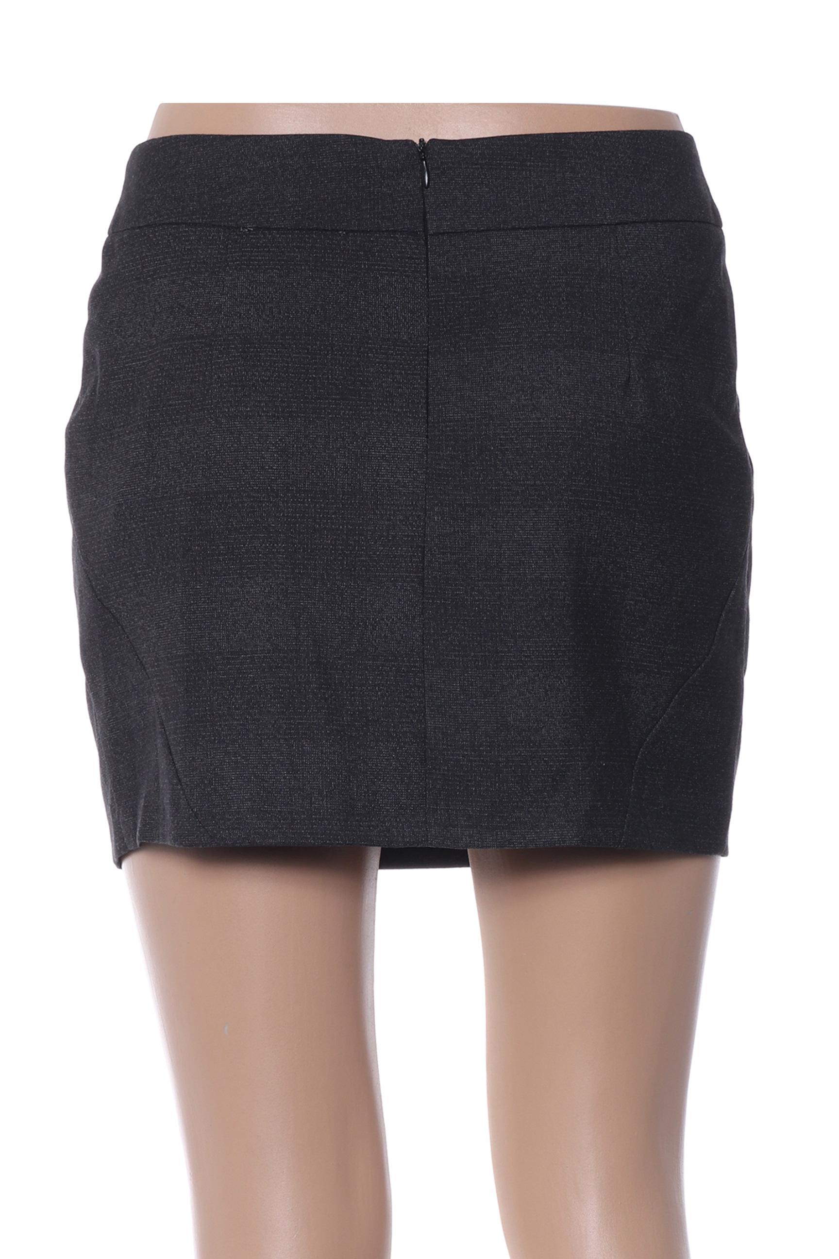 Multiples Mini Jupe Femme De Couleur Noir En Soldes Pas Cher 1384009-noir00