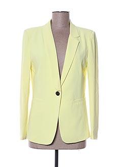 Veste chic / Blazer jaune MULTIPLES pour femme