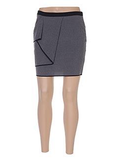 Mini-jupe gris ARMANI pour femme