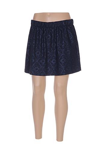 Mini-jupe bleu ESE O ESE pour femme
