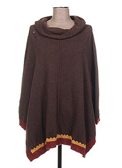 Poncho bleu I.CODE (By IKKS) pour femme