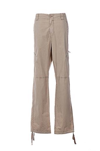 Pantalon casual beige AIGLE pour homme