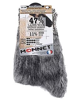 Chaussettes gris MONNET pour femme