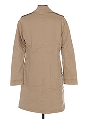 Manteau long beige BENETTON pour femme seconde vue