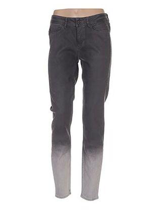 Jeans coupe slim gris EXPRESSO pour femme
