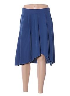 Jupe courte bleu MALOKA pour femme